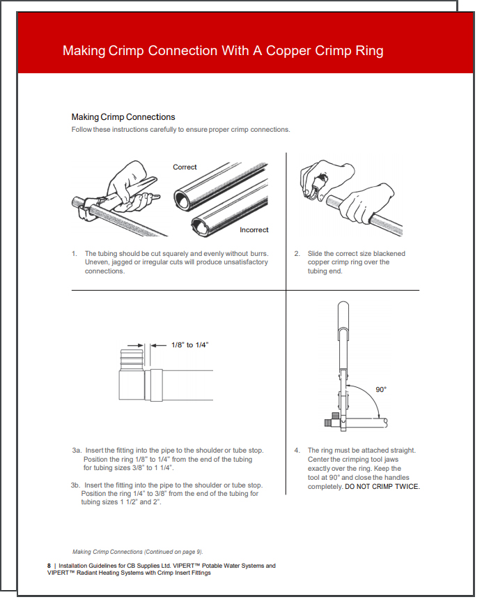 Installation Guides & Manuals | Plumbing, Heating, and
