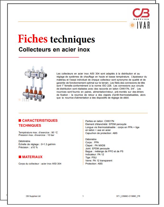French TechData Sheet - IVAR(SS)
