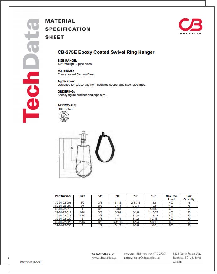 TechData Sheet - CB275E