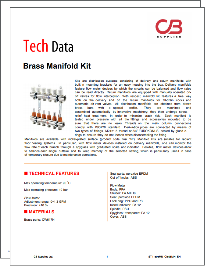 TechData Sheet - IVAR